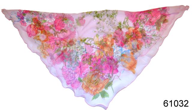 Нежный шейный платок 60*60  (61032) 2