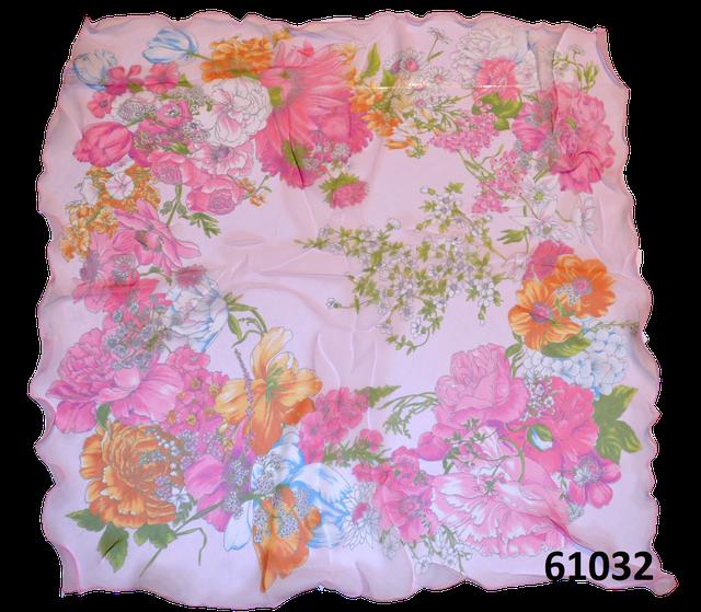 Нежный шейный платок 60*60  (61032) 3
