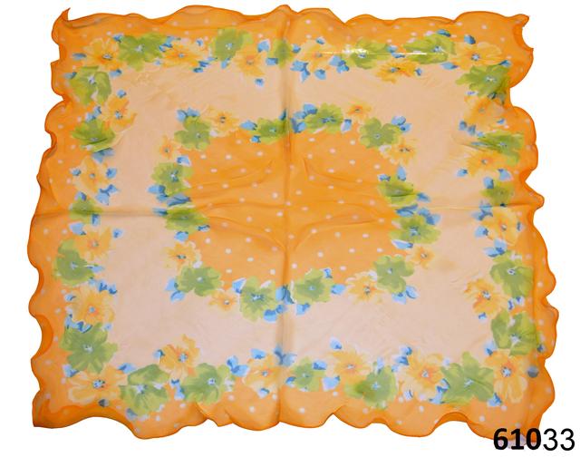 Нежный шейный платок 60*60  (61033) 3