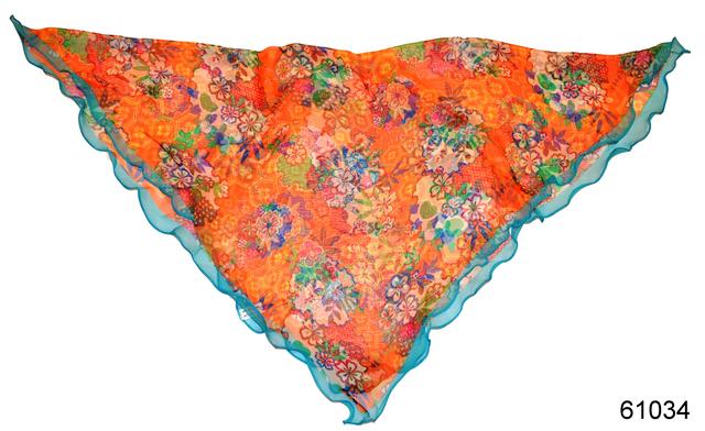 Нежный шейный платок 60*60  (61034) 2
