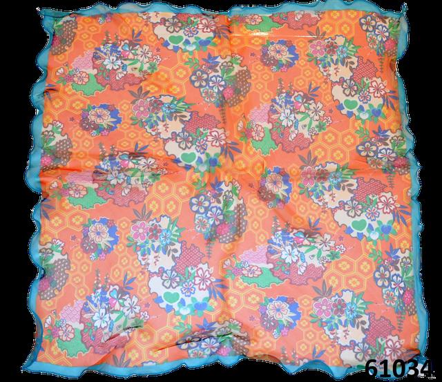 Нежный шейный платок 60*60  (61034) 3