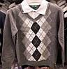 Рубашка-обманка детская серая на мальчика р. 98-122