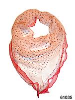 Нежный шейный платок 60*60  (61035), фото 1