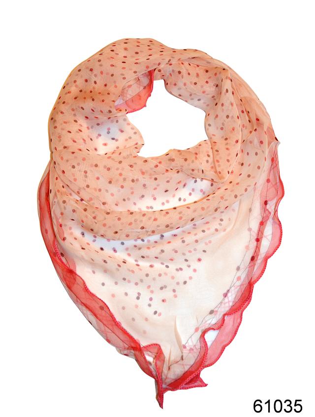 Нежный шейный платок 60*60  (61035) 1