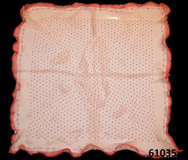 Нежный шейный платок 60*60  (61035) 3