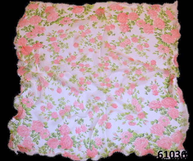 Нежный шейный платок 60*60  (61036) 3