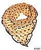 Нежный шейный платок 60*60  (61037)