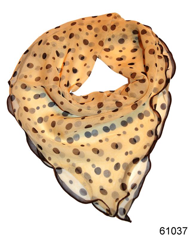 Нежный шейный платок 60*60  (61037) 1