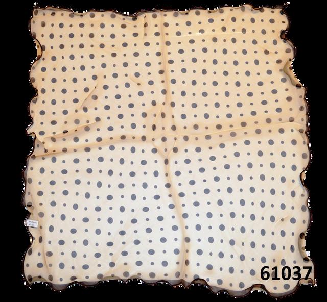 Нежный шейный платок 60*60  (61037) 3