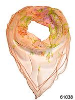 Нежный шейный платок 60*60  (61038), фото 1
