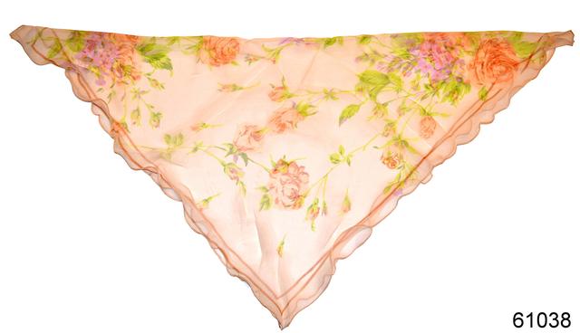 Нежный шейный платок 60*60  (61038) 2