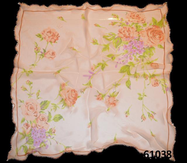 Нежный шейный платок 60*60  (61038) 3