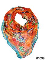 Нежный шейный платок 60*60  (61039), фото 1
