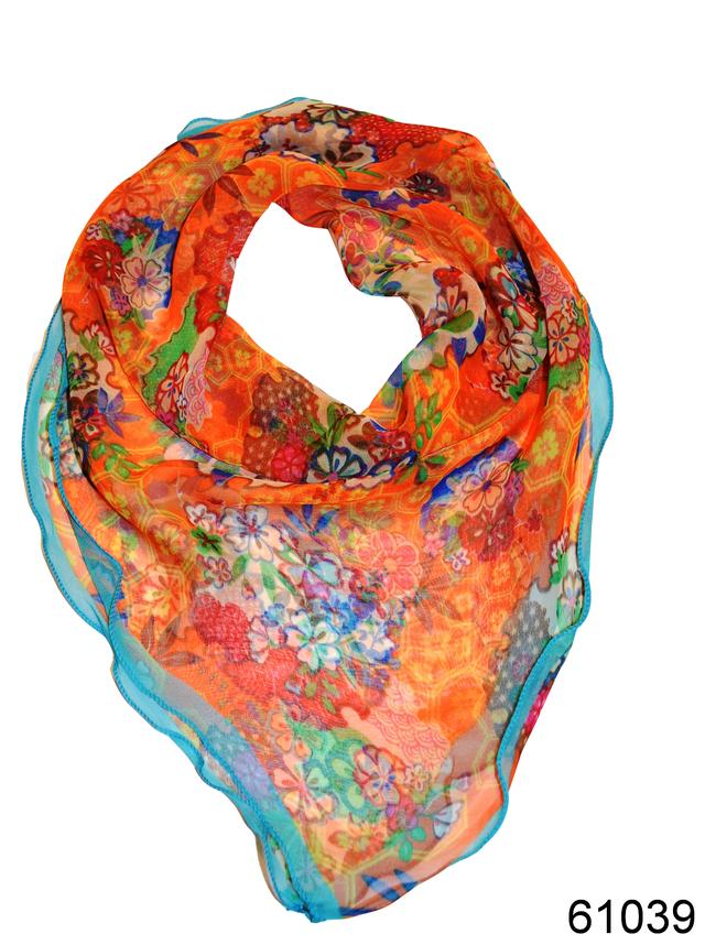 Нежный шейный платок 60*60  (61039) 1