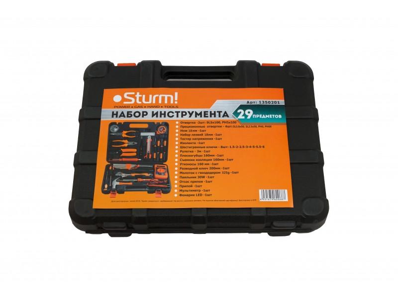 1350201 Набор инструмента 29 предметов, Sturm