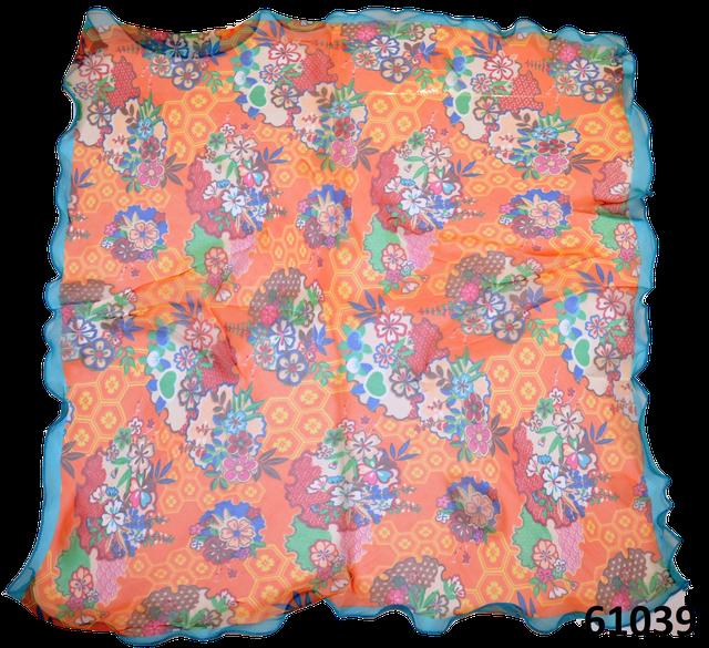 Нежный шейный платок 60*60  (61039) 3