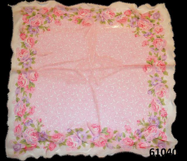 Нежный шейный платок 60*60  (61040) 3