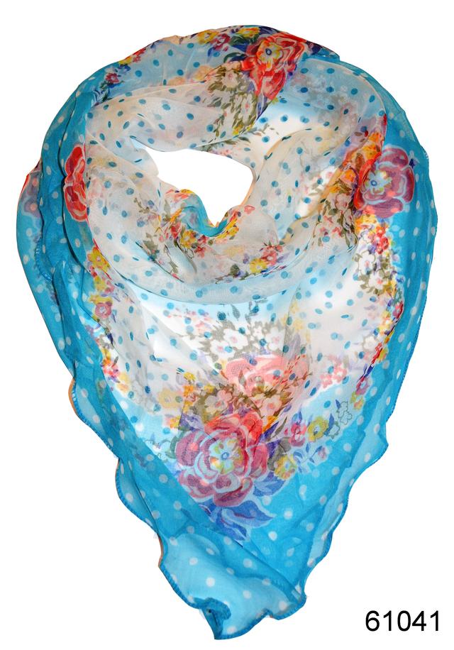 Нежный шейный платок 60*60  (61041) 1