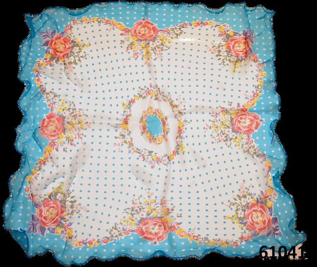 Нежный шейный платок 60*60  (61041) 2