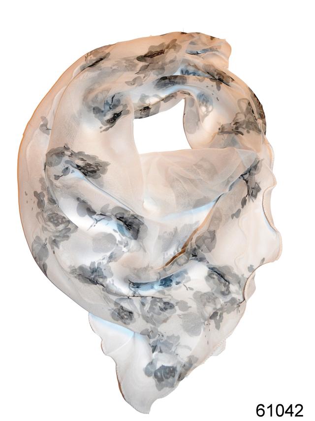 Нежный шейный платок 60*60  (61042) 1