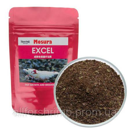 Mosura Excel Flakes, корм на основе водорослей и морепродуктов для всех видов креветок, 5г.