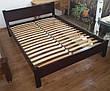 """Детская кровать """"Детская Эконом"""" (1400\1600*700мм.) массив - сосна, ольха, береза, дуб., фото 5"""