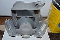 Респиратор Маска лицевая обзорная с химическими фильтрами марки А в резиновой оправе
