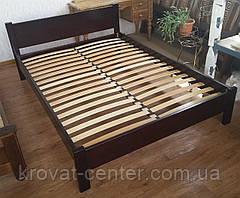 """Двуспальная кровать из натурального дерева """"Эконом"""" от производителя, фото 3"""