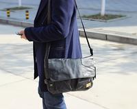 Мужская кожаная сумка. Модель 61234, фото 8