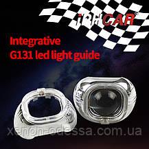 """Маска для ксеноновых линз 3.0"""" : Apollo G131-CREE со светодиодными Ангельскими Глазами LED CREE, фото 3"""