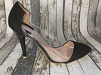 Женские туфли лодочки на каблуке