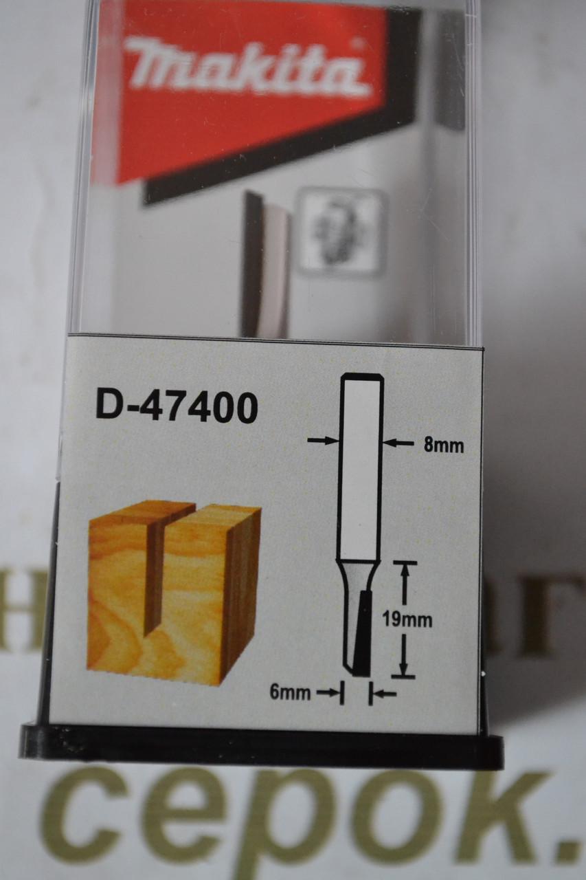 Фреза пряма Мakita 1 ніж, 6х19х50.8мм
