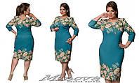 Платье увеличеных размеров    размеры (52-58)  17-20
