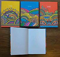 Блокнот В5, 80 листов, клетка, интегральная обложка, микротиснение+пантон, Mandarin, 202549