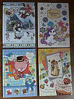 Дневник для девочек, В5, твердая обложка+фольга, 64 листа, Mandarin, 122814