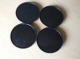 Колпачок 68х65 4шт вставка заглушка диаметры 68,5х64.6х67.2мм в на литой диск пластиковая на 5-ти защелках  , фото 2