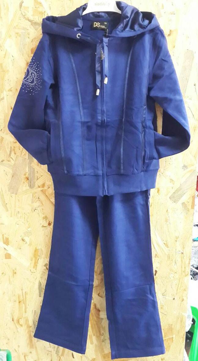 Подростковый спортивный костюм Delorasя, р. 134-164 т синий