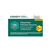 Антивирус Kaspersky Internet Security 2017 Multi-Device 2ПК1рік+3міс RenewalCard (KL1941OOBBR17)