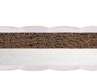 Детский матрас КП тонкий (кокос-поролон), для кровати 120х60 см. Толщина 5 см. kinderbox