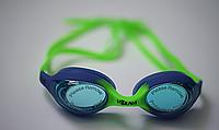 Очки для плавания подростковые Volna Zolotonosha Jr Green Blue