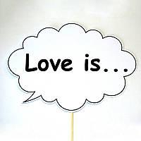 """Речевое облачко """"Love is..."""" (Арт. F-142)"""