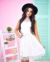 Кружевное платье  0563-2