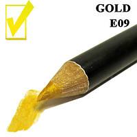 Карандаш для глаз и губ, цвет Gold Золото косметический Nabi E05