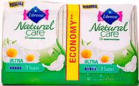 Прокладки гигиенические Libresse Natural Care Ultra Super 18 шт 5 капель