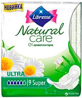 Прокладки гигиенические Libresse Natural Care Ultra Super 9 шт 5 капель