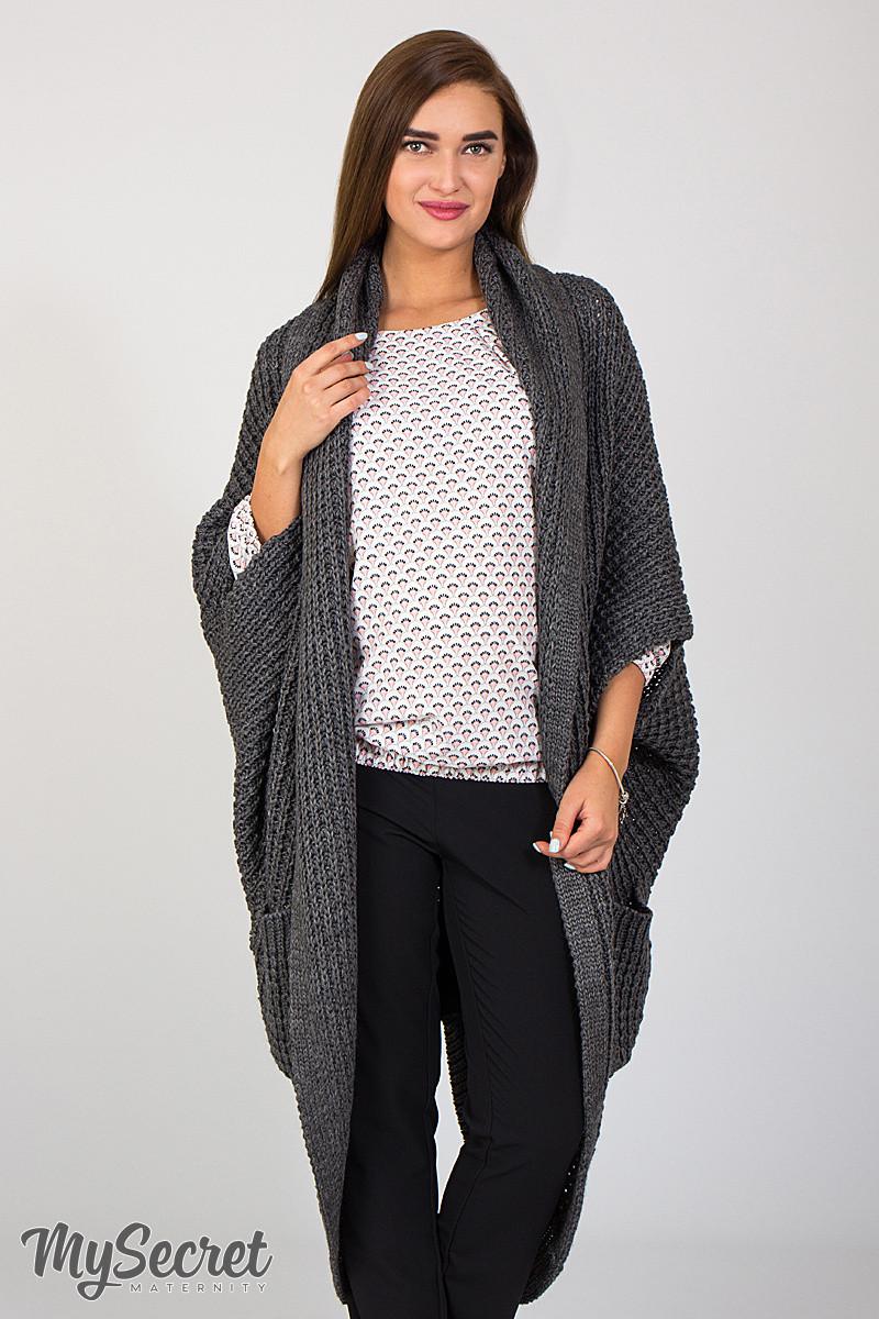 28d6cd31c5e Длинная кофта-шаль для беременных Kelsey
