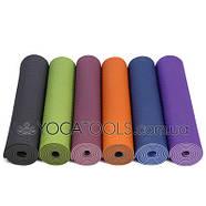 Килимок для йоги LOTUS PRO, TPE, BODHI, Німеччина, 183x61cm, фото 2