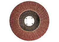 Круг лепестковый торцевой, P 40, 125 х 22,2 мм MATRIX