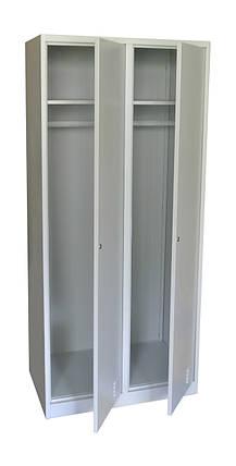 Шкаф для одежды ТМ Ferocon ШМО 22-01-08х18х05-Ц-7035, фото 2