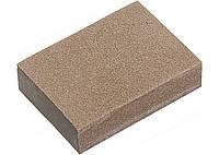 Губка для шлифования, 100 х 70 х 25 мм, средняя жестк., 3 шт., P 60/80, P 60/100, P 80/120 MATRIX